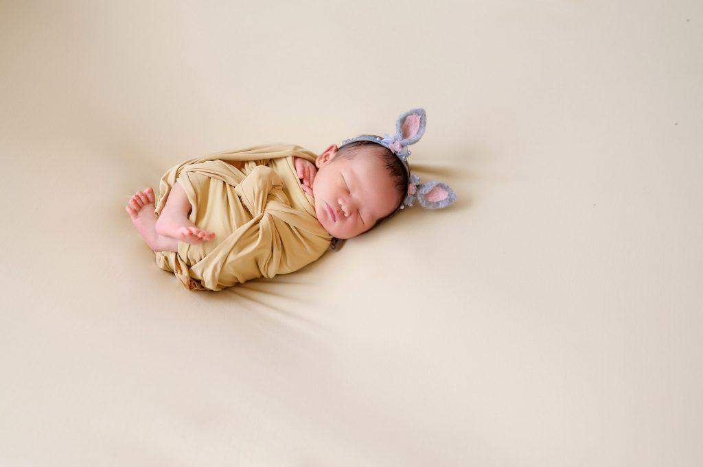 bunny ear newborn prop